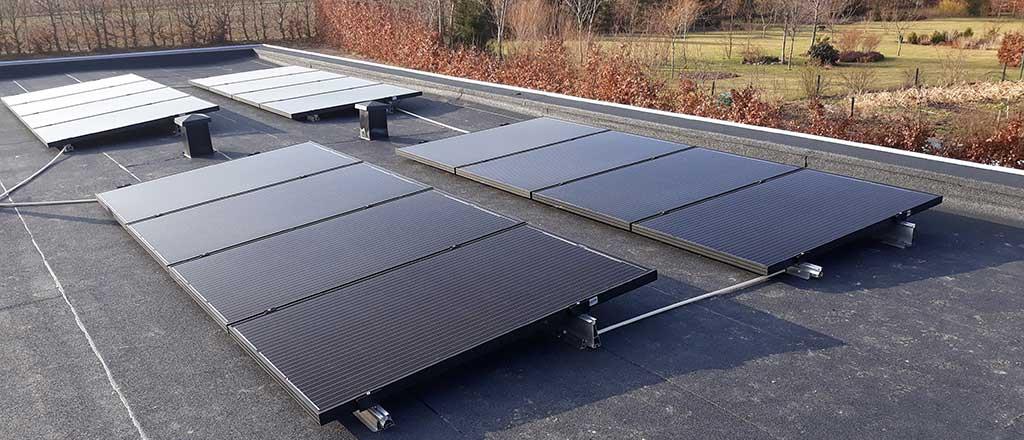 solceller på tag